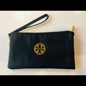 Tory Burch black waterproof wallet